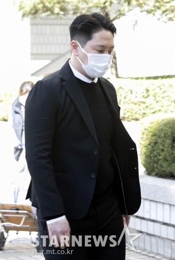 '강제추행' 힘찬, 징역 10개월 선고[★포토]
