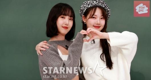 여자친구 예린-신비 '셀피와 댄스를 부탁해~' [영상]