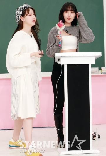 신비 '첫 수업은 예린언니에요!' [★포토]