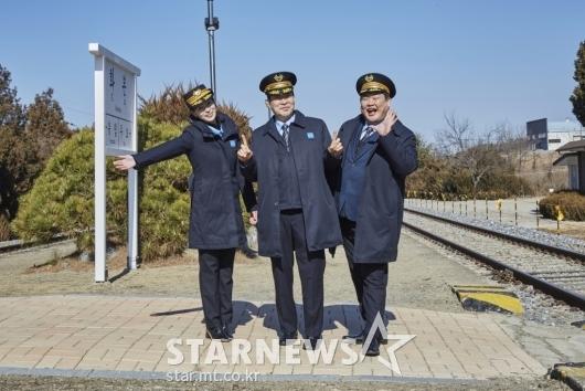 임지연-손현주-김준현 '간이역, 기대하세요'[★포토]