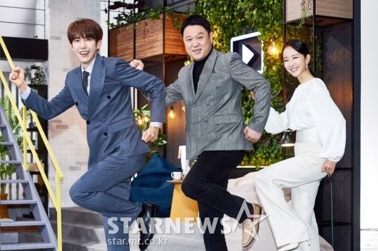 광희-김구라-박선영 '출근합시다!'[★포토]