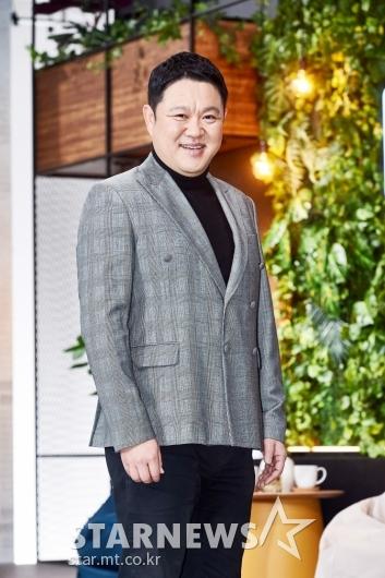 김구라 '온화한 미소'[★포토]