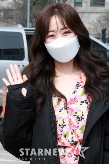 김효진 '반가운 인사' [★포토]