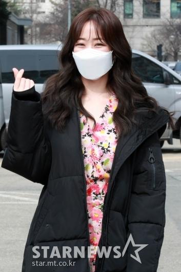 김효진 '아름다운 미소와 하트' [★포토]