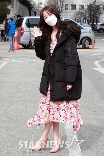 김효진 '샤랄라 벌써 봄이네요~' [★포토]