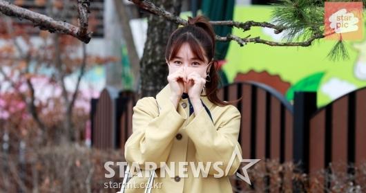 윤은혜 '봄을 닮은 예쁜미모!' [영상]