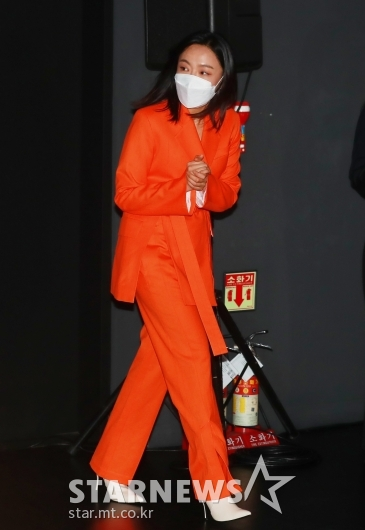 이상희 '오늘 컬러는 오렌지'[★포토]