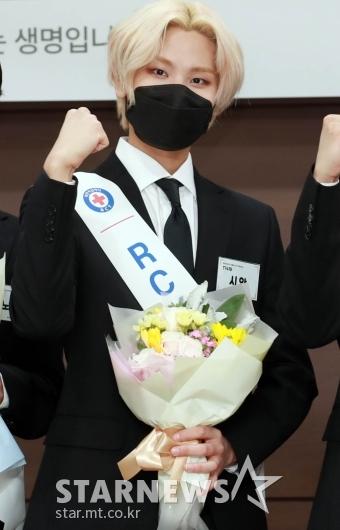 T1419 시안 'RCY 파이팅!' [★포토]