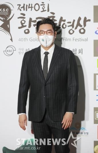 조진웅 '황금촬영상 시상식 왔어요'[★포토]