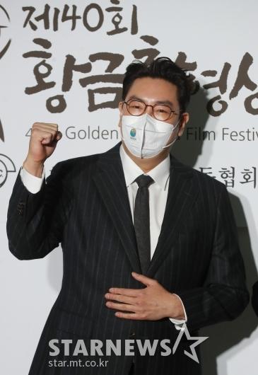 조진웅 '황금촬영상, 화이팅'[★포토]