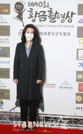 김미경 '황금촬영상 시상식 왔어요'[★포토]