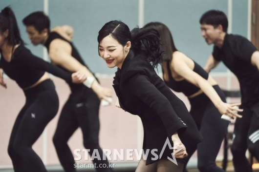 티파니영 '웃으며 연습해요'[★포토]