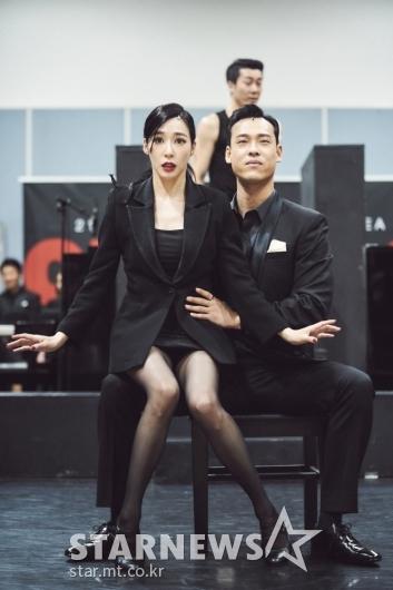 티파니영-최재림 '연습도 실전처럼'[★포토]