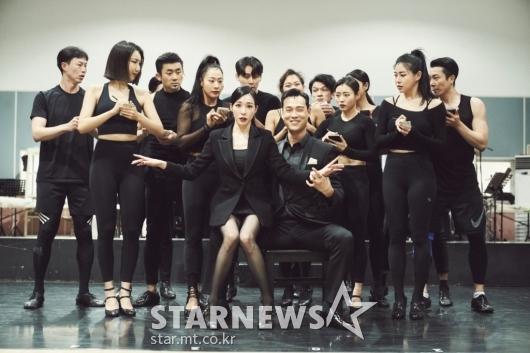 티파니영-최재림 '뮤지컬 시카고, 기대하세요'[★포토]