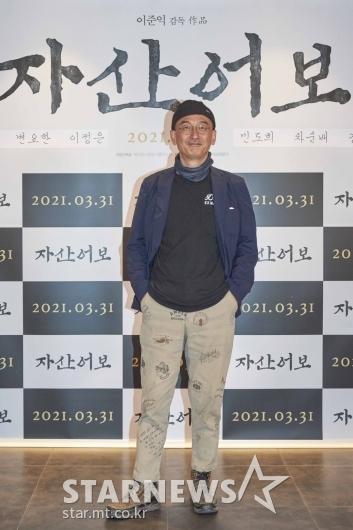 이준익 감독 '여유로운 포즈'[★포토]