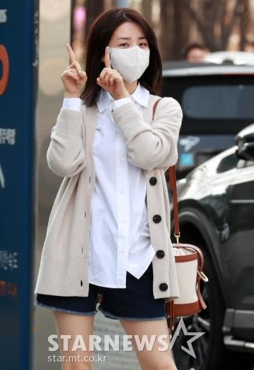 박하선 '11시 요정 왔어요'[★포토]