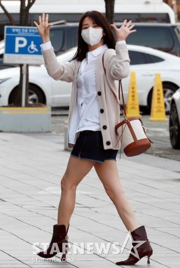 박하선 '오늘도 출근하는 목동여신'[★포토]