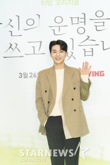 김우석 '기분 좋아지는 미소'[★포토]