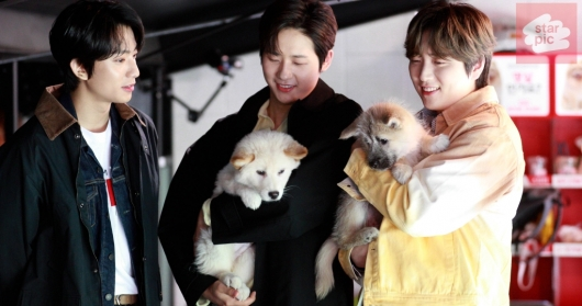 B1A4 '유기견과의 특별한 만남' [영상]
