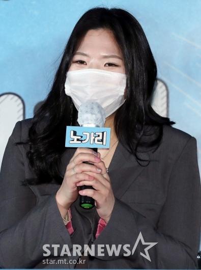 김은재 '유일한 홍일점이에요'[★포토]
