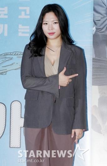 김은재, 영화 '노가리' 미모의 홍일점![★포토]
