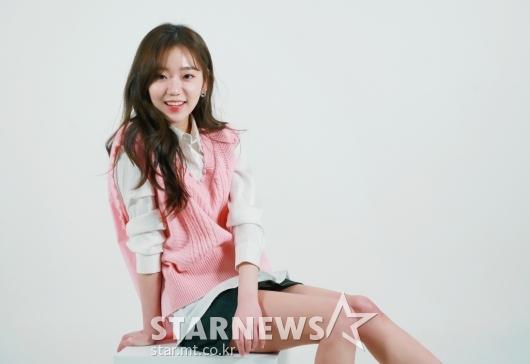 전혜원 '핑크빛 미소'[★포토]