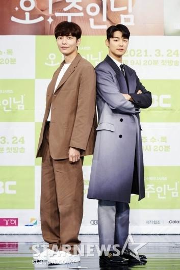 이민기-강민혁 '우리는 라이벌'[★포토]