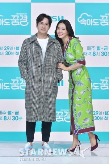 임형준-윤해영 '연인처럼 다정하게'[★포토]
