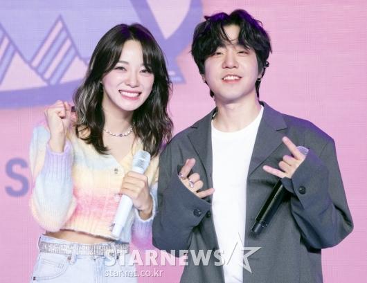 김세정-릴보이 '환상의 콜라보'[★포토]