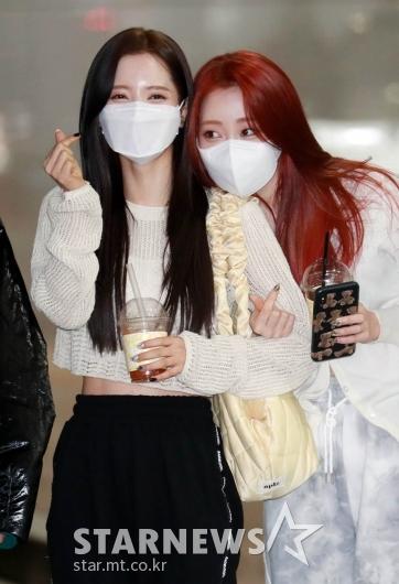 우주소녀 보나-연정 '오랜만에 인사드려요~'[★포토]