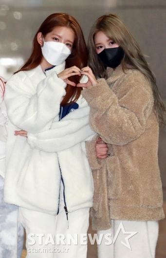 우주소녀 엑시-다영 '사랑스런 하트'[★포토]