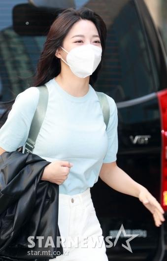 김세정 '봄바람 타고 왔어요'[★포토]