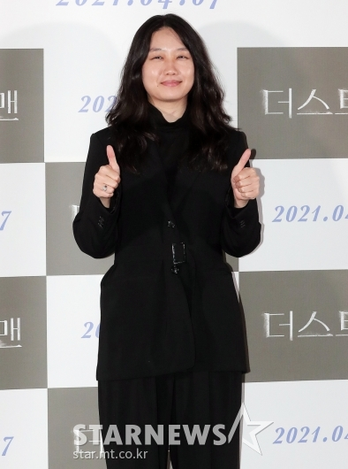 김나경 감독 '더스트맨' 최고![★포토]