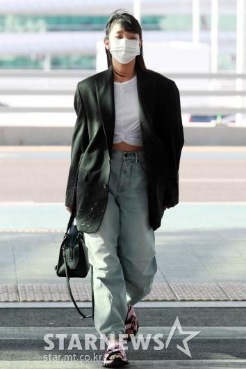 여자아이들 민니 '공항런웨이'[★포토]