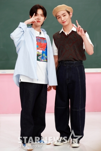 김재환-윤지성 '우리는 단짝'[★포토]
