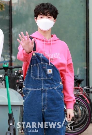 미래소년 손동표 '핑크가 잘어울려!'[★포토]