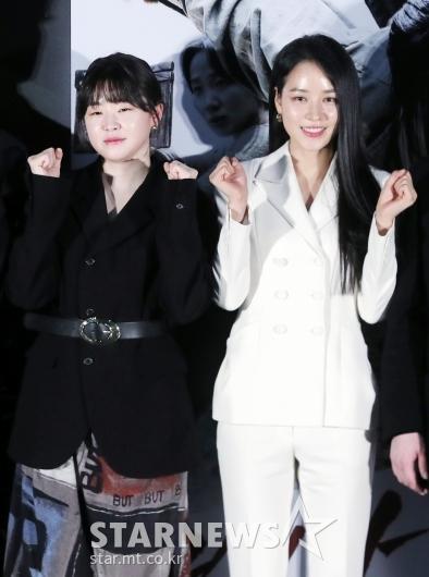 이민지-안지혜 '예쁘게 파이팅'[★포토]