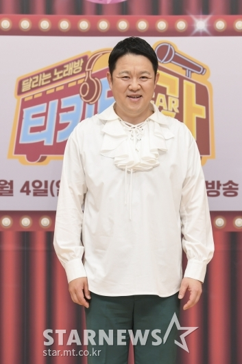김구라 '티키타카 MC에요'[★포토]