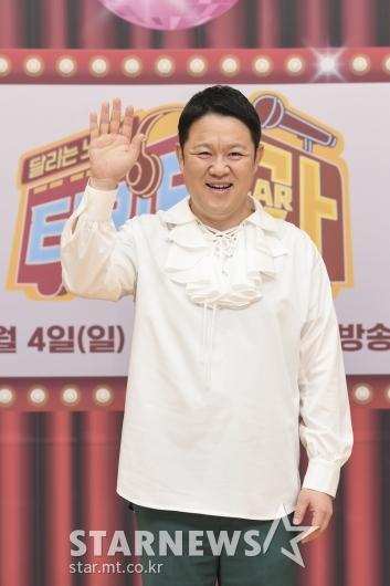 김구라 '달리는 노래방 티키타카, 기대하세요'[★포토]