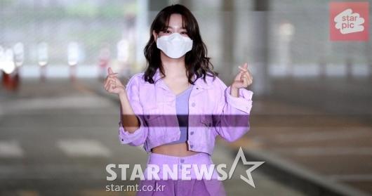 김세정 '보랏빛 매력'[영상]