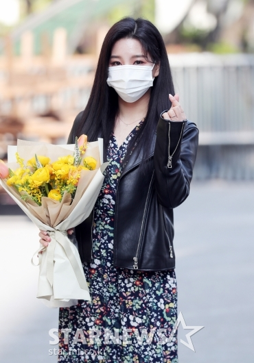 신미래 '꽃을 닮은 미모'[★포토]