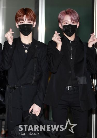 김동윤-김민서 '귀여움이 포인트!'[★포토]