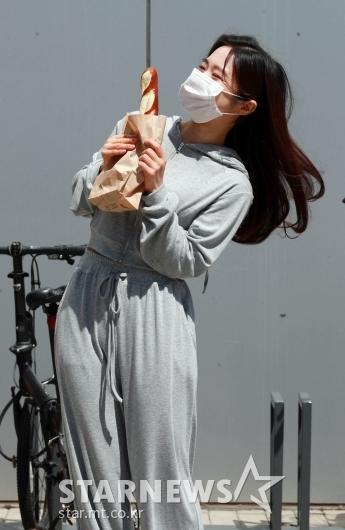 이혜성 '빵 맛있겠죠!'[★포토]