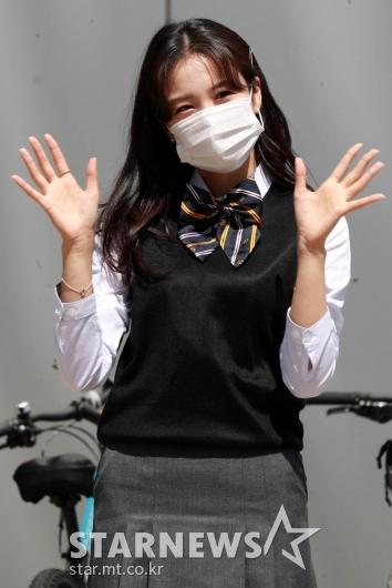 장예원 '교복도 완벽소화'[★포토]