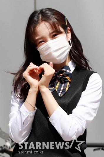 장예원 '교복입고 꽃미모'[★포토]
