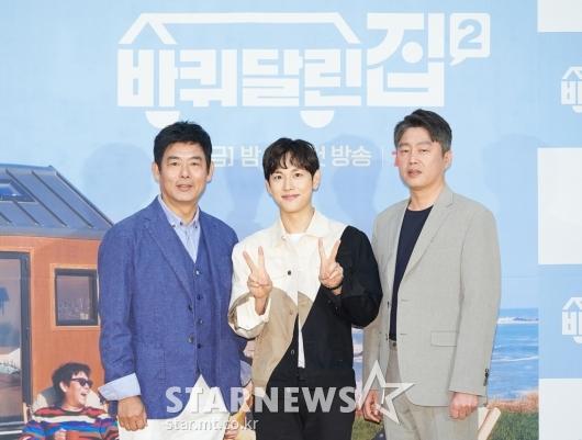 성동일-임시완-김희원 '바퀴 달린 집2, 기대하세요'[★포토]