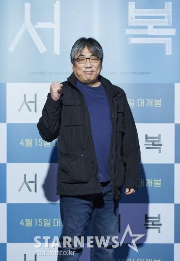 이용주 감독 '서복, 화이팅'[★포토]