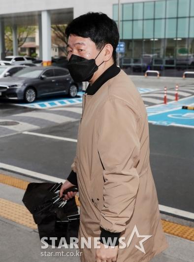 최재욱 '불법도박장 개설 혐의' 4차 공판 출석[★포토]