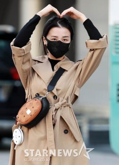 박하선 '화장기없는 예쁜얼굴'[★포토]