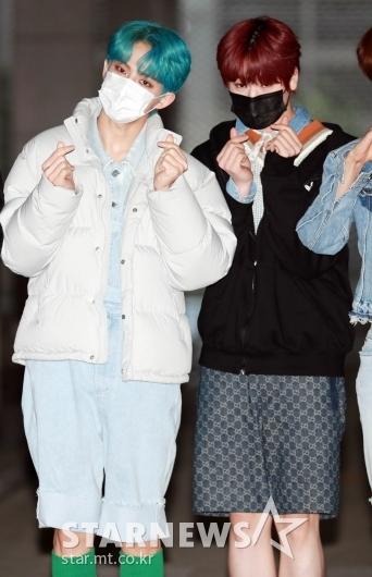 BAE173 제이민-도현 '귀여운 반바지'[★포토]